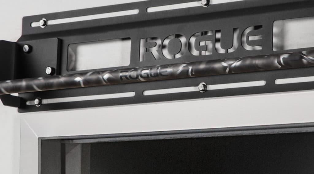 Rogue Jammer Pull-Up Bar tek gray camo cerakote smooth