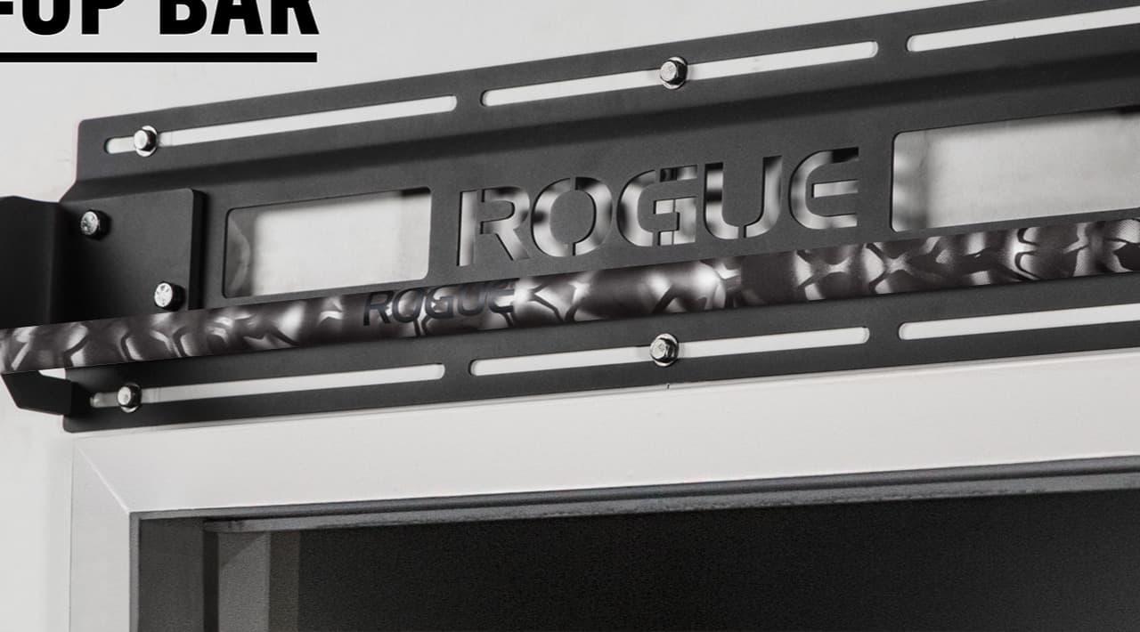 Rogue Jammer Pull-up Bar gray camo cerakote