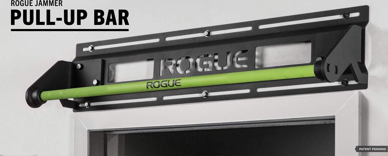Rogue Jammer Pull-up Bar green cerakote