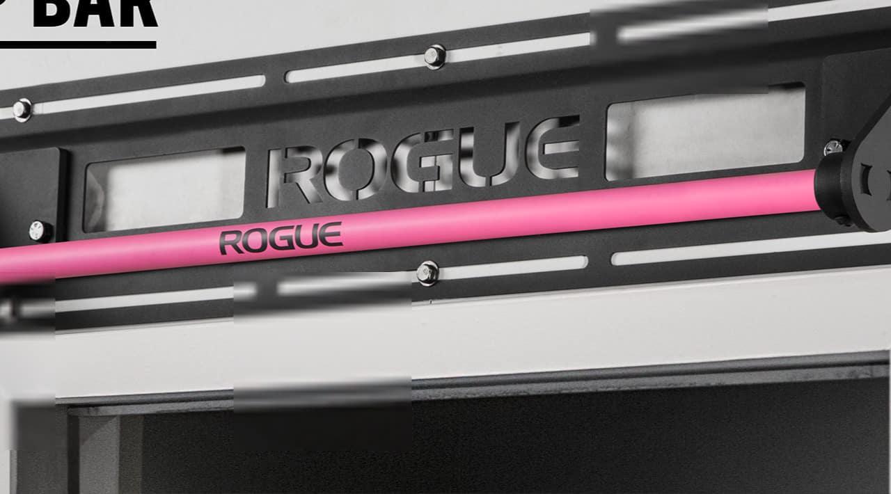 Rogue Jammer Pull-up Bar pink smooth