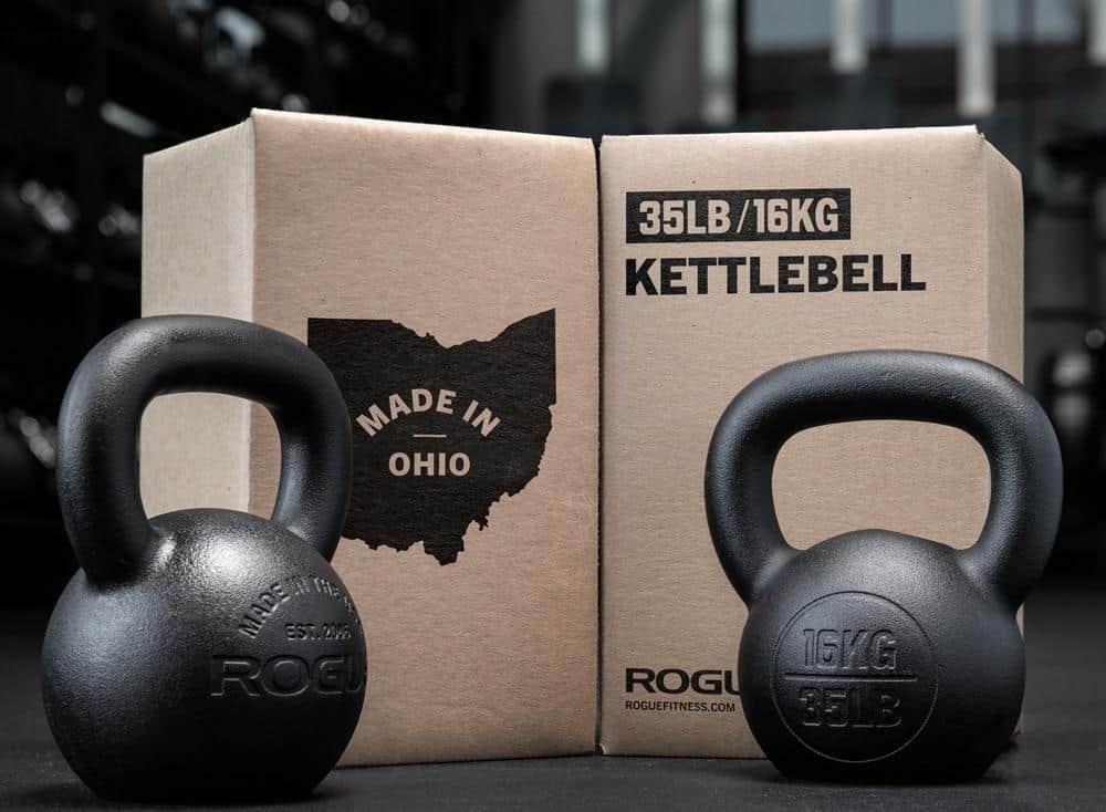 Rogue Kettlebell - Powder Coat 16kg