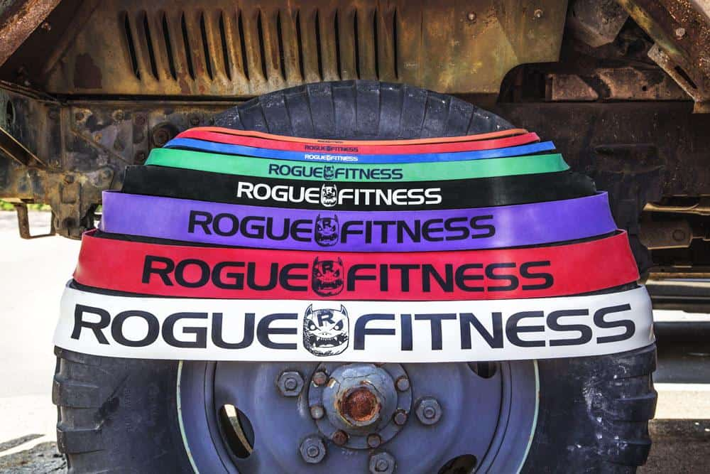 Rogue Monster Bands arpund the tire