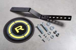 Rogue Monster Bolt-Together Wall Ball Target accessories