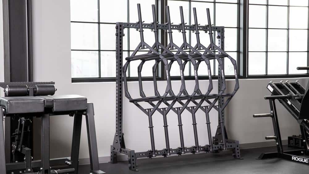 Rogue Monster Lean-To Bar Rack with bars