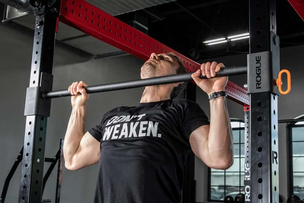 Rogue Monster Lite Adjustable Pull-up Bar pull up