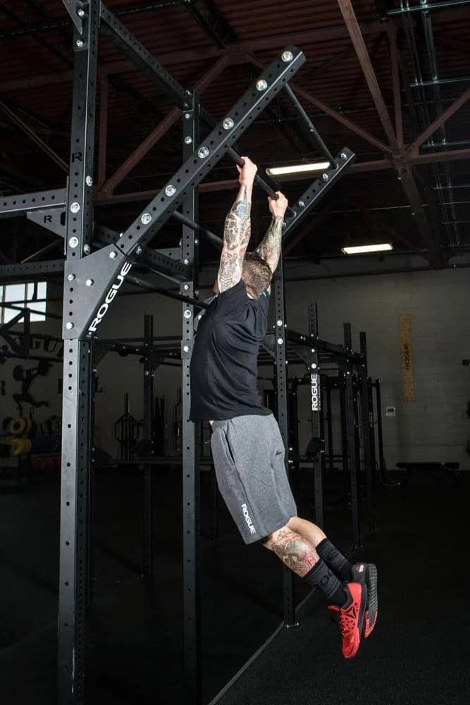 Rogue Monster Lite Flying Pull-up Bar pull up