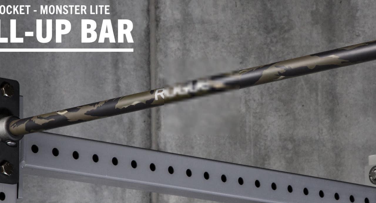 Rogue Monster Lite Socket Pull-up Bar tiger stripe cerakote