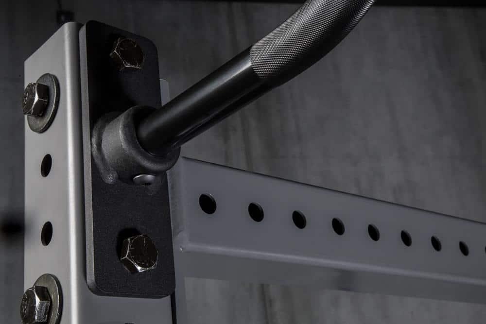 Rogue Monster Lite Socket Pull-up Curl Bar details