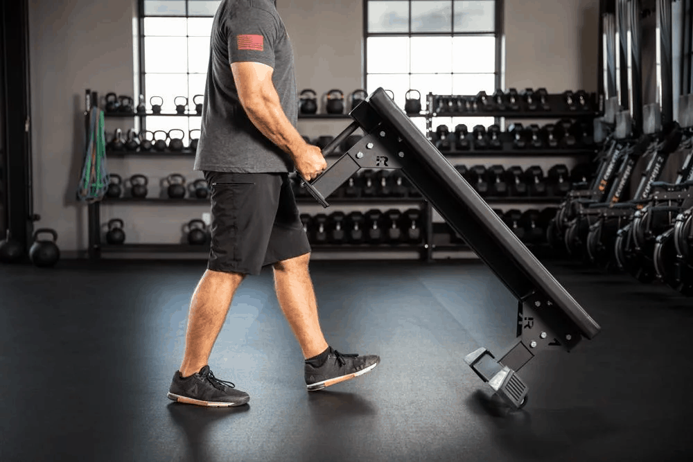 Rogue Monster Utility Bench - Wheels