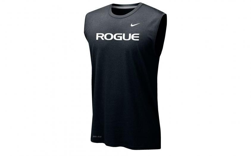 Rogue Nike Dri-Fit Legend 2.0 Sleeveless Tee - Mens full front black