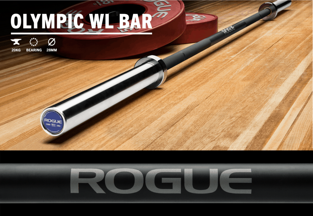 Rogue Olympic WL Bar with Cerakote shaft