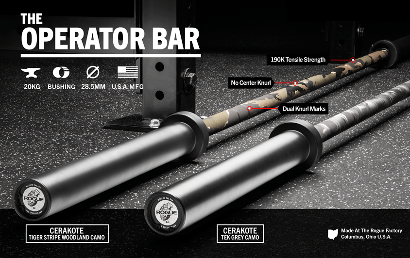 Rogue Operator Bar in Camo