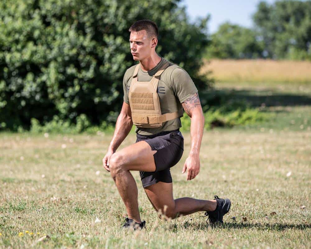 Rogue Plate Carrier lunge