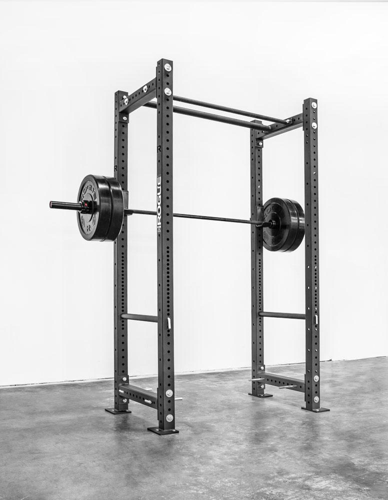 Rogue bench folding rig the garage gym crossfit garage