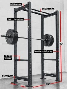 Rogue fitness what color rack would you pick garage gym