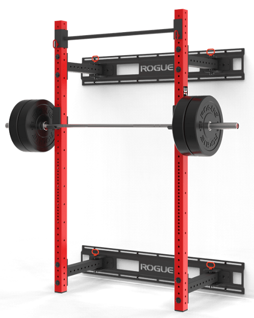 Rogue Monster Lite RML-3WC Fold Back Wall Mount Rack - Great for space constrained garage gyms