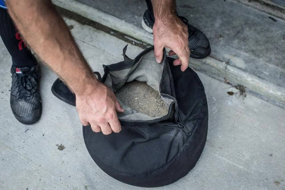 Rogue Strongman Sandbags inside
