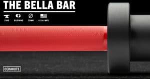 Rogue The Bella Bar 2.0 - Cerakote cerakote red