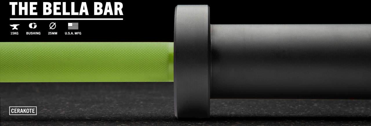 Rogue The Bella Bar 2.0 - Cerakote green black