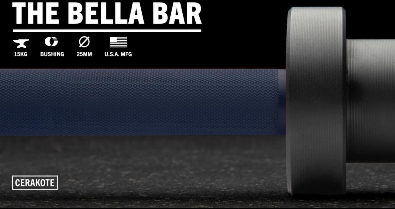 Rogue The Bella Bar 2.0 - Cerakote navy black