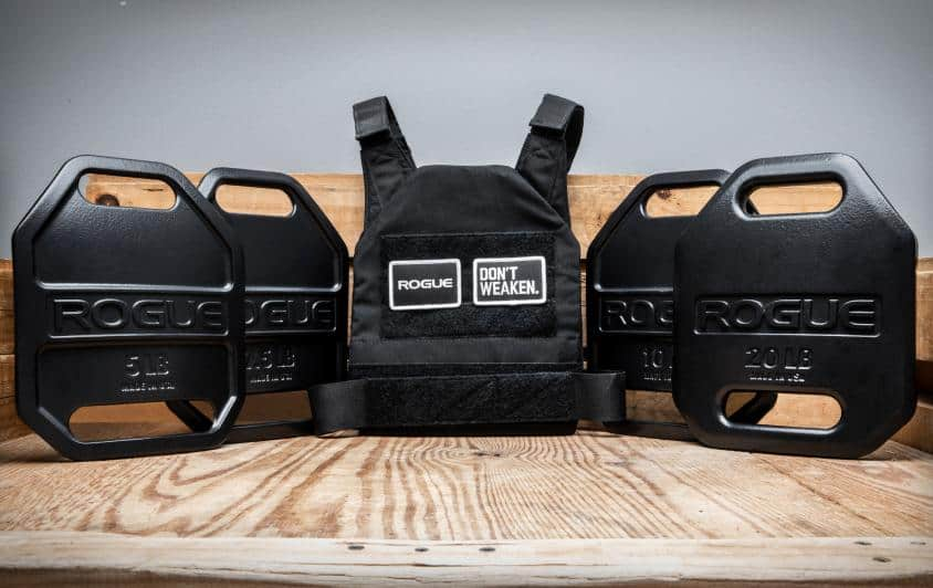 Rogue USA Cast Weight Vest Plates vest and plates