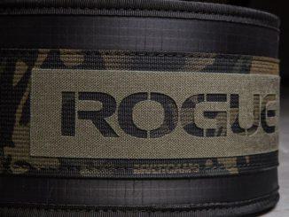 Rogue USA Nylon Lifting Belt camo