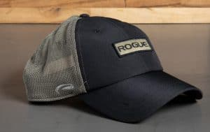 Rogue Ultrafit Trucker Hat Black and Gray
