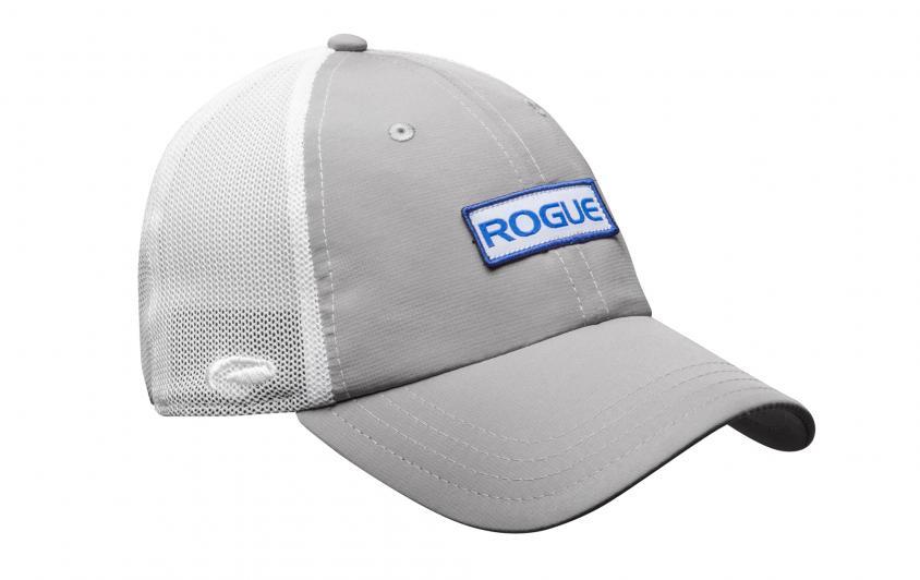 Rogue Ultrafit Trucker Hat Gray White