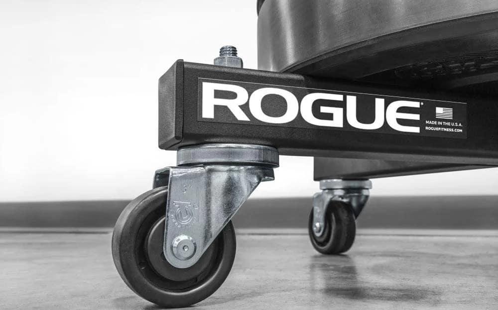 Rogue V2 Bumper Stacker wheels