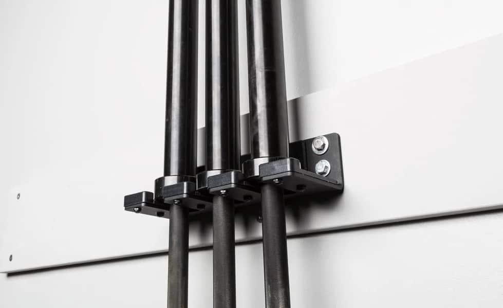 Rogue Vertical Bar Hanger holding three bars