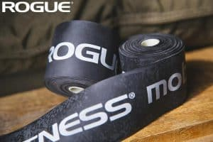 Rogue VooDoo Floss Bands black close up