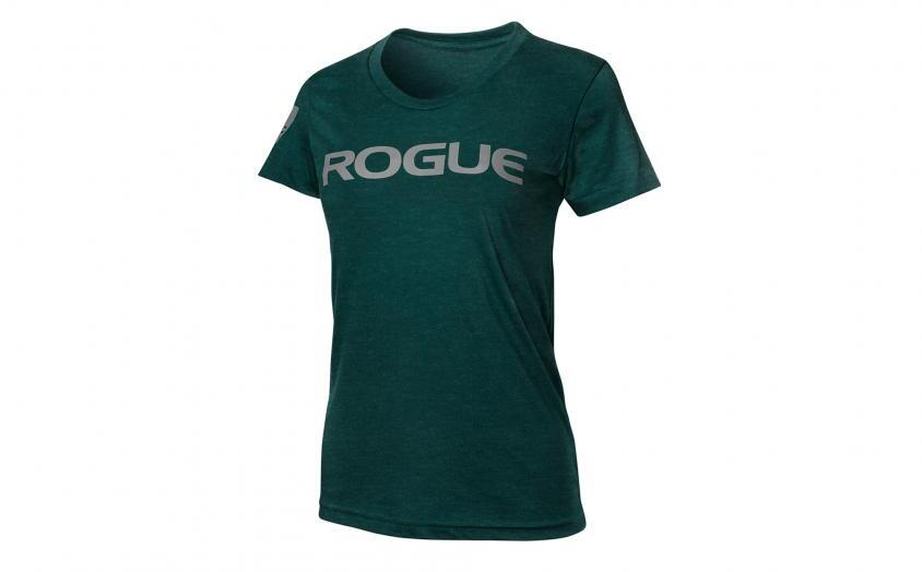 Rogue Womens Basic Shirt black aqua silver