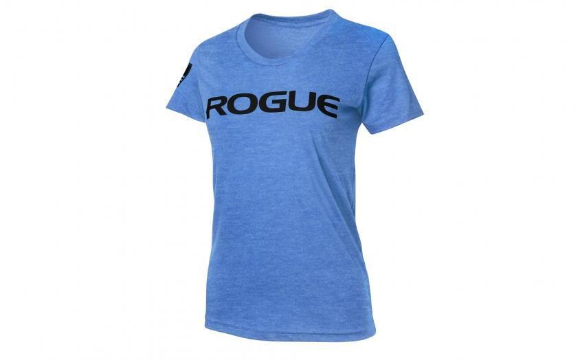 Rogue Womens Basic Shirt heather lake blue