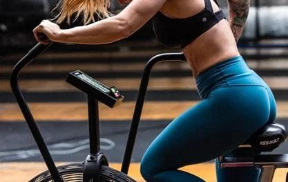 Rogue interval training on assault bike