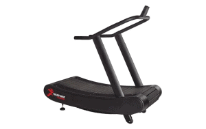 The TRUEFORM Trainer is an advanced, non-motorized treadmill that's compact, lightweight, and uniquely simple to use