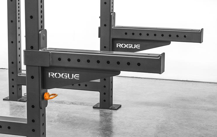 Rogue SAML-24-MONSTER-LITE-SAFETY-SPOTTER-ARMS - These are compatible with any Rogue Monster Lite rack