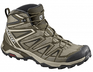 Salomon Mens X Ultra Mid 3 Aero Hiking Shoes