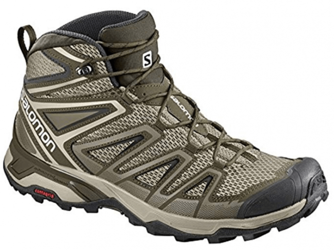 Salomon Mens X Ultra Mid 3 Aero Hiking Shoes