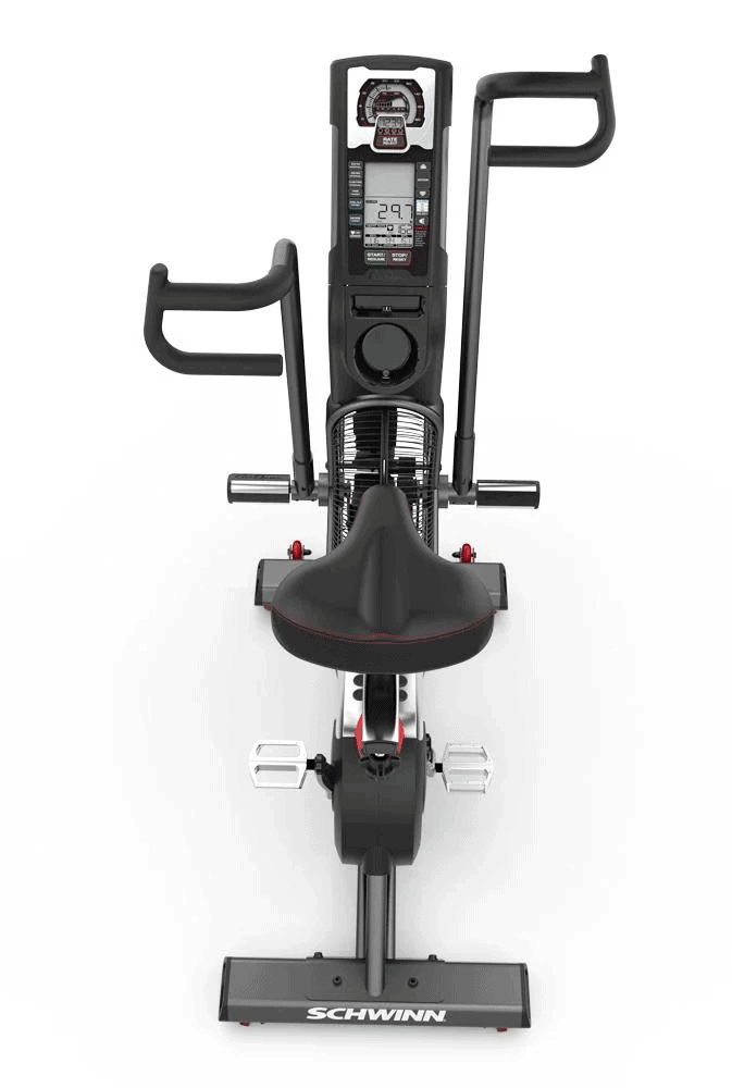Schwinn Airdyne Pro Air Bike - View from Behind