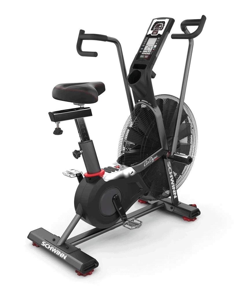 Schwinn Airdyne Pro Air Bike - Side Quarter View