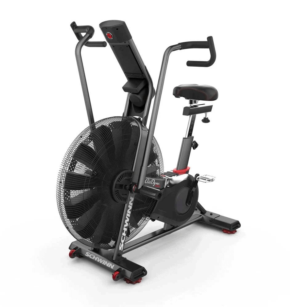 Schwinn Airdyne Pro Air Bike - Front Quarter View