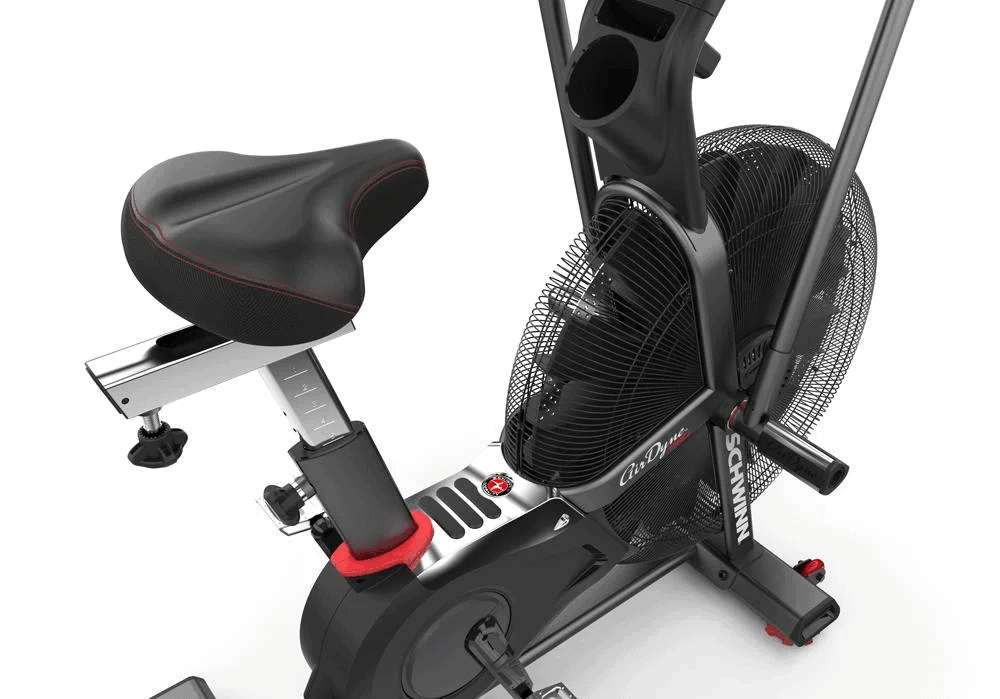 Schwinn Airdyne Pro Air Bike - Seat Closeup