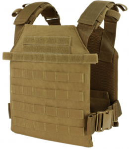 "The Condor Sentry Plate Carrier is a minimal-bulk, high-performance tactical vest with full adjustability for a custom fit. The carrier's durable, easily accessible plate pockets are specially designed to hold both medium and large ESAPI standard plates up to 10.25"" x 13.25"". You can order your vest on its own or with a set of compatible Rogue Weight Vest Plates (5.75LB and 8.75LB available). Fully loaded, the Sentry can hold up to 8 Rogue plates, four on each side."