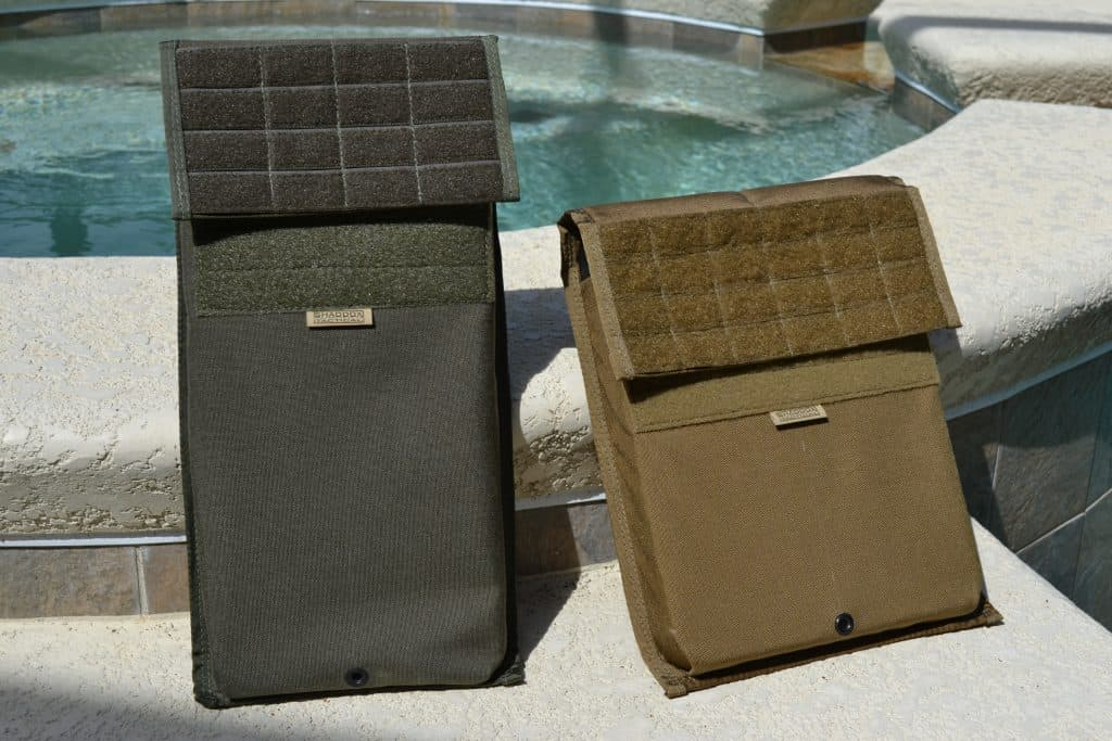 Shaddox Tactical Padded Plate Pocket - front view
