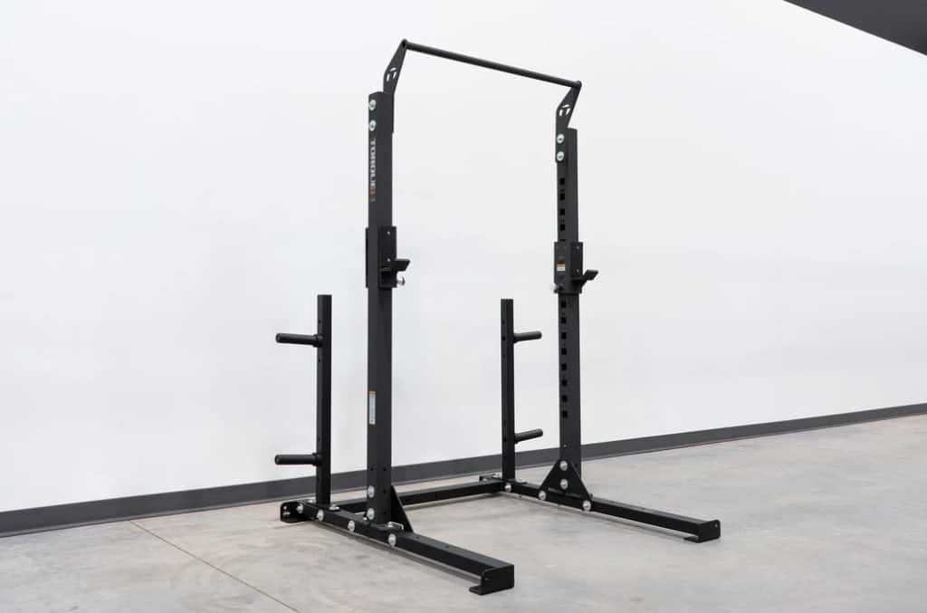 Short Squat Rack with Vertical Weight Storage Pair main