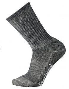 The SmartWool Hiking Light Crew sock is a great choice for the ruck or trail. With an elasticized arch brace and just the right amount of cushion for trail or aggressive walking