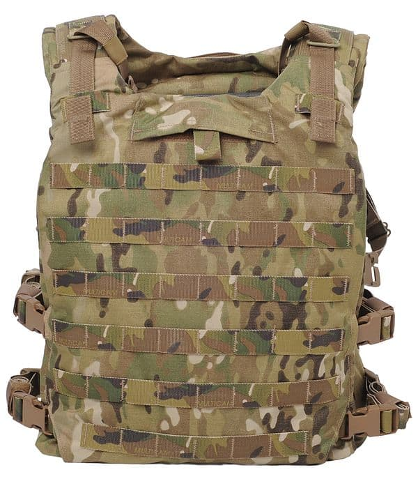 The Soldier Plate Carrier System is the US Army standard ballistic plate carrier.