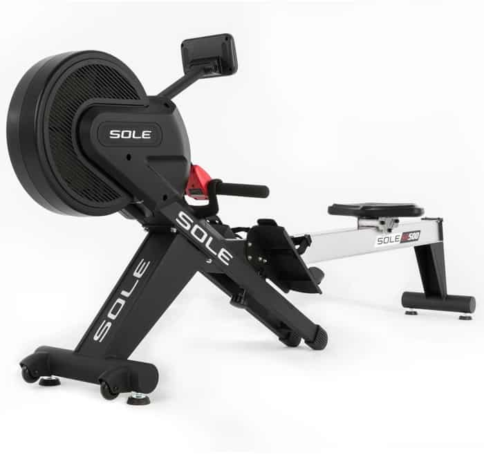 Sole SR500 Rower front left