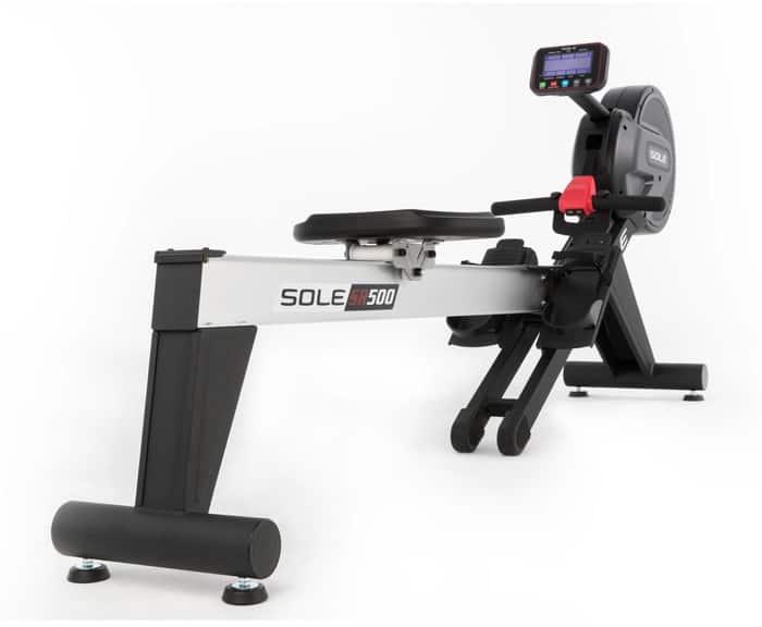 Sole SR500 Rower right rear