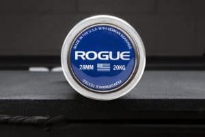 Rogue Olympic WL Bar in Stainless Steel